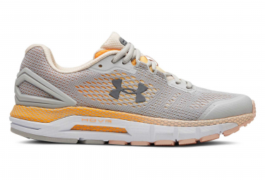 Zapatillas Under Armour HOVR Guardian para Mujer Gris / Naranja