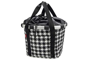 Sacoche de guidon klickfix bikebasket noir blanc