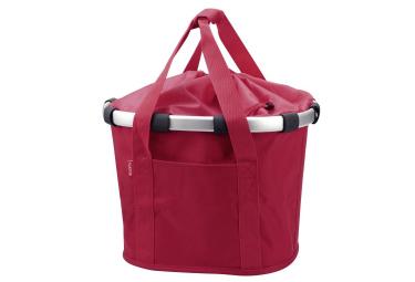 Sacoche de guidon klickfix bikebasket rouge