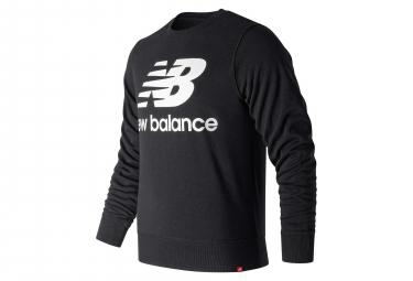 Pull New Balance NB Essentials Logo Noir Homme