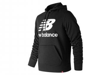New Balance Hoodie NB Essentials Logo Schwarz Herren