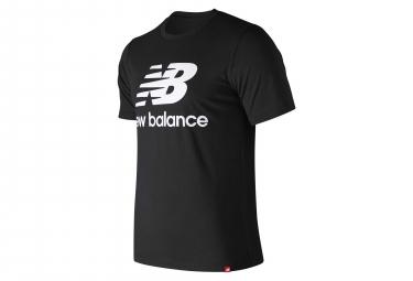 T shirt manches courtes new balance nb essentials logo noir homme l