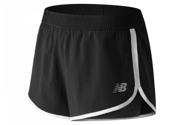 New Balance Short 2-en-1 Accelerate 2 in 1 Train Black Women