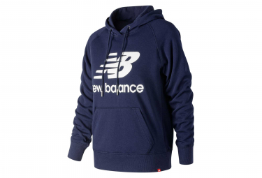 New Balance Hoodie NB Essentials Logo Blue Women