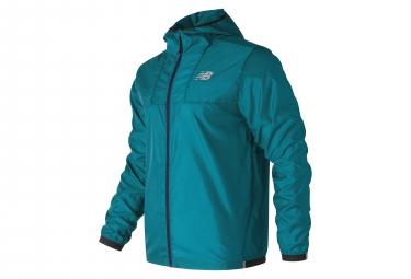 New Balance Repellant Jacket Lite Pack Blue Men
