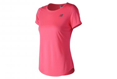 New Balance Short Sleeves Jersey Accelerate V2 Pink Women