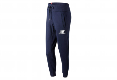 New Balance jogging Pant NB Essentials Logo Blue Women