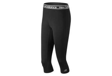 New Balance 3/4 Tight Relentless Colorblock Black White Women