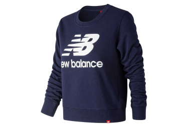 New Balance Midlayer NB Essentials Logo Blue Women