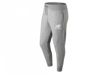 New Balance jogging Pant NB Essentials Logo Gris Hombres