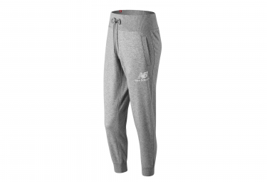 New Balance jogging Pant NB Essentials Logo Grey Women