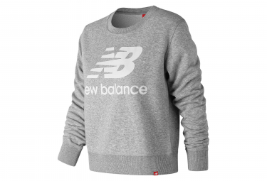 New Balance Midlayer NB Essentials Logo Grey Women