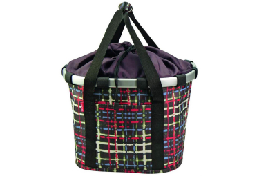 Sacoche de guidon klickfix wool noir