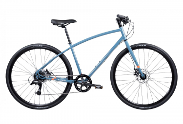 VTC Pure Cycles Urban Commuter 8 Vitesses Bleu