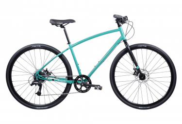 VTC Pure Cycles Urban Commuter 8 Vitesses Bleu Ciel