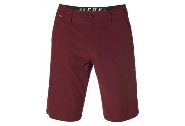 Short Fox Essex Tech Stretch Rouge