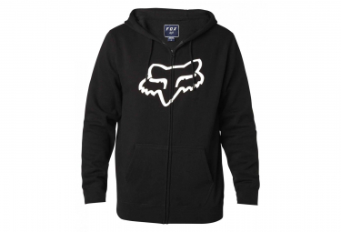 Fox Legacy Foxhead Zip Fleece Black