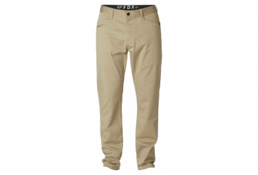 Fox Stretch Chino Pant Beige