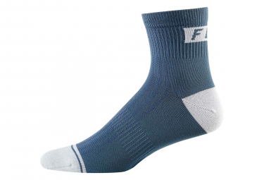 Calcetines Fox 4 Trail - Bleu / Gris