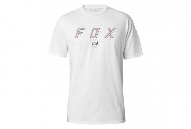 Fox Barred manga corta Prenium camiseta blanca