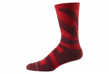 Fox 8 Trail Cushion Mid-high Sock Cardinal