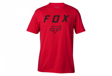 Fox Legacy Moth Short Sleeves T-Shirt Red