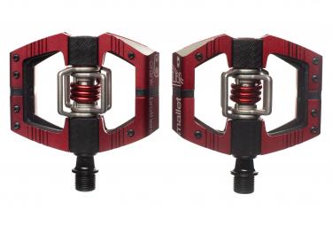 Paire de Pédales Crankbrothers Mallet Enduro Edition Limitée Rouge