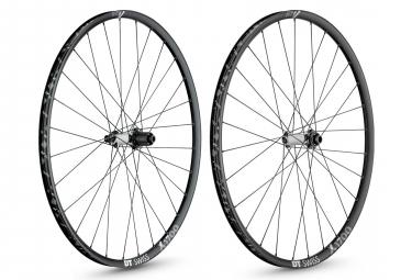 DT Swiss Wheelset X1700 Spline 25 29''   15x100mm   12x142mm   Center Lock