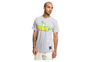 DC Shoes T-Shirt SS Throwy Grey Heather