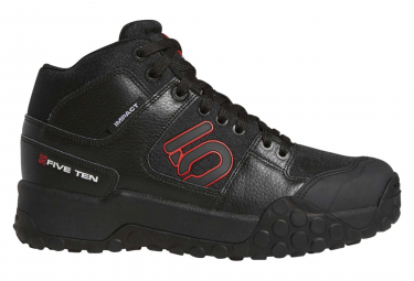 Fiveten Impact High Shoes Black Red