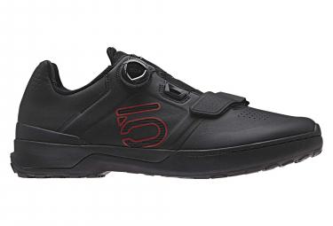 Paire de Chaussures Fiveten Kestrel Pro Boa Noir Rouge