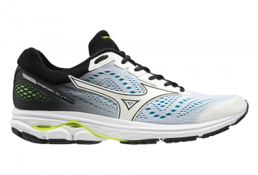 Mizuno Wave Rider 22 White Blue Black Men