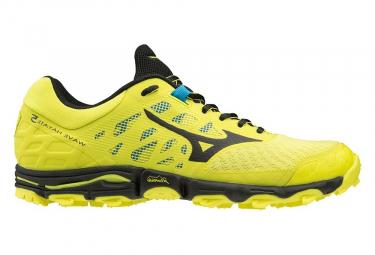 Zapatillas Mizuno Wave Hayate 5 para Hombre Amarillo / Negro