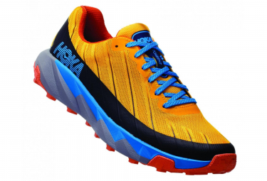Hoka Trail Schuhe Torrent Gelb Blau Orange