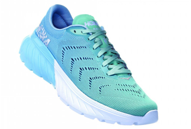 Hoka Running Shoes Mach 2 Blue Women