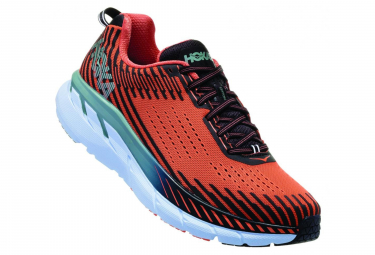 Hoka Laufschuhe Clifton 5 Orange Blau