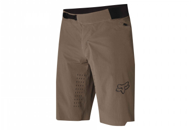 FOX FLEXAIR SHORT NO LINER BROWN