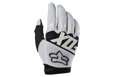 Fox Youth Dirtpaw Race Long Glove White