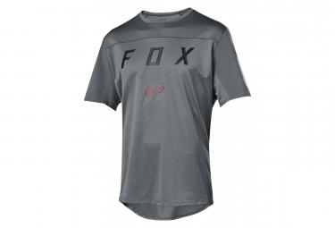 Fox Flexair Short Sleeves Moth Jersey Grey