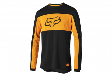 FOX RANGER Dri-Release Foxhead Long Sleeves Jersey Black
