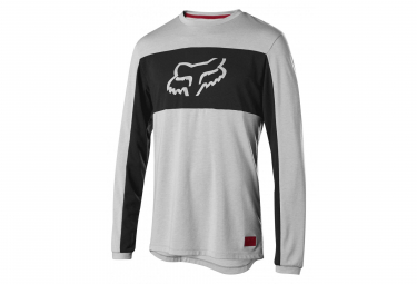 FOX RANGER Dri-Release Foxhead Long Sleeves Jersey Grey
