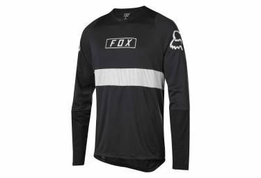 Fox Defend Long Sleeves Jersey Black