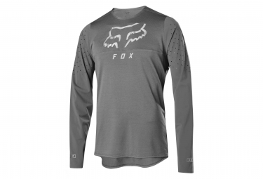 Fox Flexair Delta Long Sleeves Jersey Grey