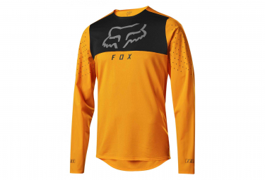Maillot Manches Longues Fox Flexair Delta Orange