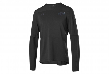Fox Defend Delta Long Sleeves Jersey Black