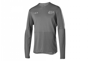 Fox Defend Delta Long Sleeves Jersey Grey