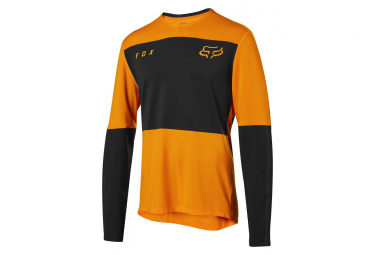 Fox Defend Delta Manga Larga Jersey Naranja