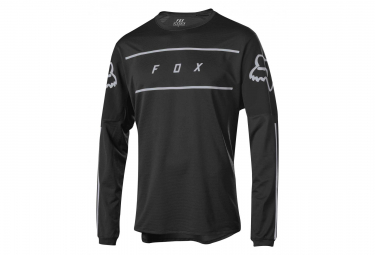 Fox Flexair Long Sleeves Fine Line Jersey Black
