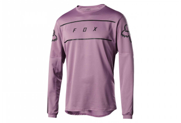 Fox Flexair Long Sleeves Fine Line Jersey Pink