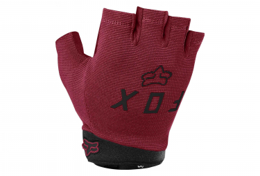 Gants Courts Fox Ranger Gel Bordeaux